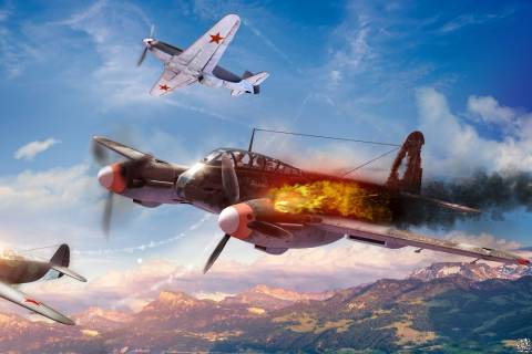 War Thunder Background