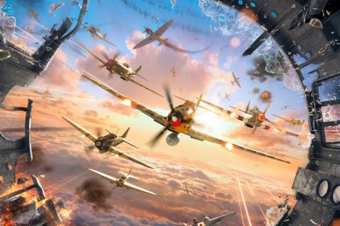 World of Warplanes Background
