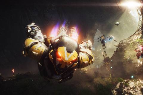 Anthem Gameplay Footage