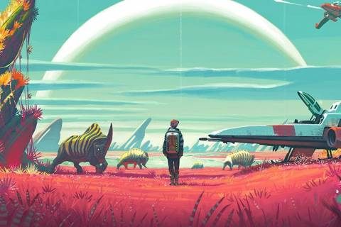 No Mans Sky Background