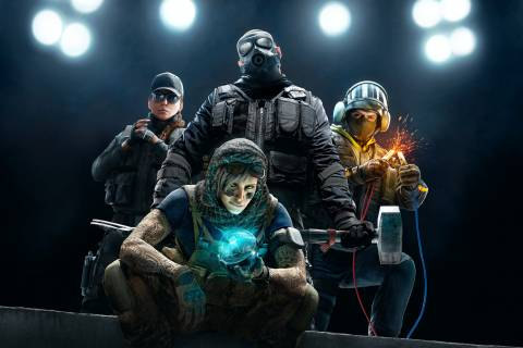 Rainbow 6 Siege Background